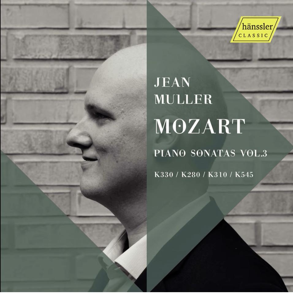 Jean Muller Releases Mozart Sonatas Vol.3